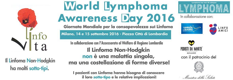 Giornata Mondiale per la Consapevolezza sul Linfoma